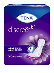 TENA DISCREET MAXI NIGHT 6 KPL